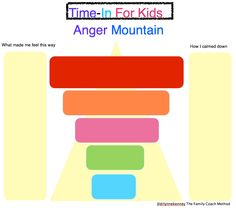 Climbing Down Anger Mountain #Time-In FREE PRINTABLE