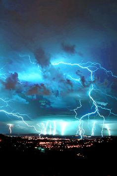 Electrical Storm over Palamós (Spain) by Nigel Perrin