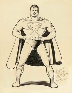 Superman by Joe Shuster