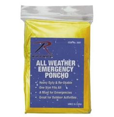 emergency poncho, poncho, wet weather item, ponchos, survival item, survival gear, emergency supplies, emergency gear, survival supplies, su...