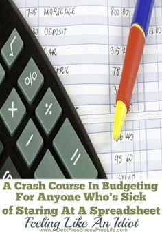 No budget? Here's a crash course in budgeting for all the people who have been staring at the spreadsheet, feeling like an idiot. All that changes today! It's time to get smart about your money.