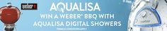 Win a Weber BBQ, Cooking set and Apron worth £259.99 (RRP). All orders for ANY Aqualisa Digital Showering product will be automatically entered into the prize draw http://www.tradingdepot.co.uk/DEF/catalogue/E001/Showers%20&%20Shower%20Spares/Aqualisa%20Showers