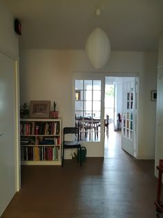 How it looks from the front door Bookcase, Shelves, Doors, Home Decor, Home, Shelving, Decoration Home, Room Decor, Bookcases