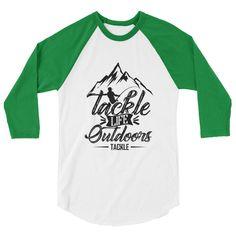 Tackle Fishing 3/4 sleeve raglan shirt