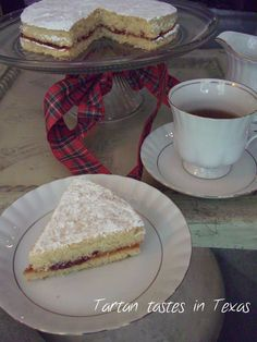 Scottish Recipes - Victoria Sandwich Cake