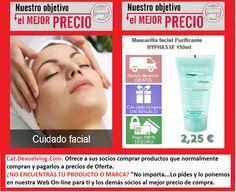 Devuelving Tienda Online y Comercio por Internet: Mascarilla facial Purificante BYPHASSE 150ml