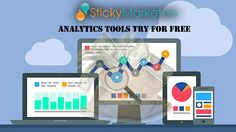 #Stickymarketers has been making waves in the analytics biz since it was released, and is often  the first tool that users migrate over to from Google Analytics. Stickymarketers.com