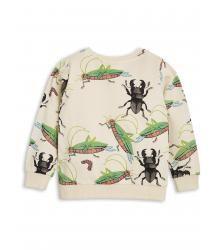 Mini Rodini INSECTS Sweatshirt Mini Rodini INSECTS Sweatshirt beige