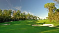 Golf in Barcelona, Spain is magnifico.