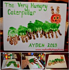 hungry caterpillar A must to do with Theo