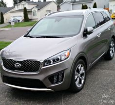 The 2016 Kia Sorento - a review and showing off my favorite features