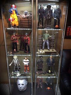 Horror collectibles