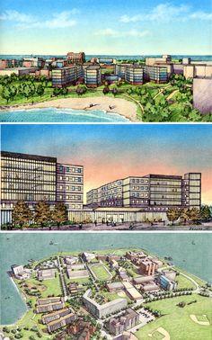 University of Massachusetts, Boston. Drawing Sketches, Sketching, Drawings, Elevation Drawing, University Of Massachusetts, Plan Sketch, Building Illustration, Perspective Drawing, Smart City