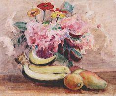 Vasyl H. Krychevsky  Fruits and Flowers, Caracas 1949