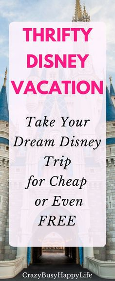 Yes you CAN take your family on a dream Disney vacation. Here's how you can take…