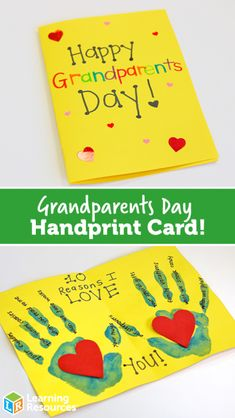 National Grandparents Day is celebrated in September each year and taking the time to acknowledge our loved ones is so important! Grandparents Day Poem, Grandparents Day Activities, National Grandparents Day, Grandparent Gifts, Dating Divas, Toddler Art, Toddler Crafts, Preschool Crafts, Preschool Activities