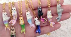 'Purrmaid' Necklaces Magically Bring Cats, Unicorns, and Mermaids Together #breakingtheinternet