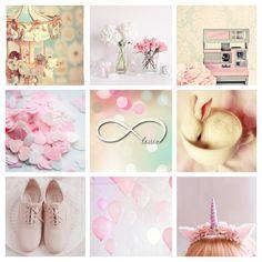 Pastel mood board - My kind of beautiful