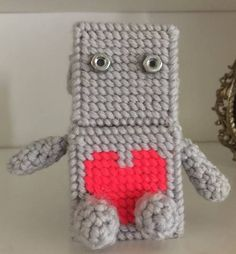 Yarn Robot by storerboughtcreations
