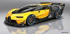 2015 Bugatti Vision Gran Turismo Colors