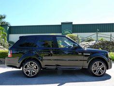 2013 Land Rover Range Rover Sport, Santorini Black #LandRoverPalmBeach #LandRover #RangeRover http://www.landroverpalmbeach.com/