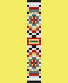 I am a quilter as well as a beader, and I designed this pattern to reflect my love of quilts and quilt design. This pattern can be used as a