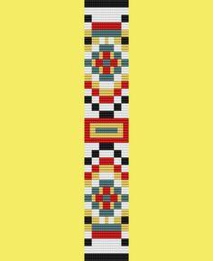 Bead Quilt Bead Pattern for Loom por TheBeadedCat en Etsy