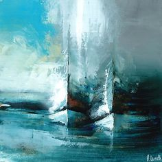 The original and unique artwork Féerie sur océan is a creation from the artist Eric Munsch, who realize Marine landscapes with very strong tones. Abstract Art Painting, Art Painting, Abstract Artists, Art Painting Oil, Painting, Boat Art, Art, Abstract, Seascape Paintings
