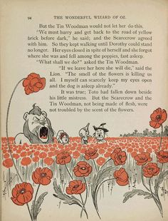 The Wonderful Wizard of Oz by L. Frank Baum, is a national treasure. These illustrations from first edition were done by William Wallace Denslow (1856-1915) and published in 1900.