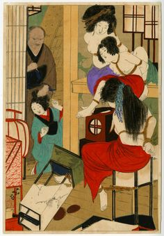 The king of Kinbaku: The erotic works of Japanese bondage artist Seiu Ito Lovers Art, Korean Art, Black Art Painting, Japanese Animated Movies, Octopus Illustration, Art, Ukiyoe, Traditional Japanese Art, Geisha Art