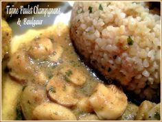 tajine poulet champignons boulgour 010