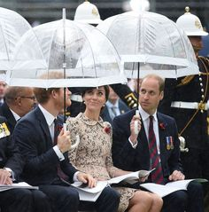 Kate Middleton Opts for Cream Lace Peplum Dress for Commemorative Service   Vanity Fair