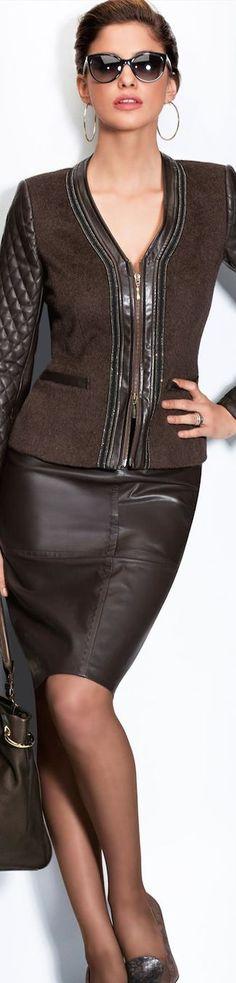 Markant! Outfit in Dunkelbraun (Farbpassnummer 6) Kerstin Tomancok Farb-, Typ-, Stil & Imageberatung
