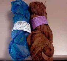 Recycled Silk Sari Ribbon Yarn Giveaway