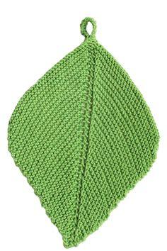 Neulottu tiskirätti Novita Puuvilla-bambu | Novita knits