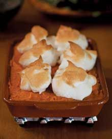 Thanksgiving NM Style - New Mexico Magazine Meringue-Topped Mashed Sweet Potatoes With Tequila