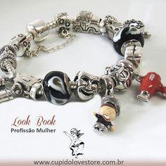 #cupidolovestore #eroscharms #profissoes #charms #berloques compatíveis com #pulseira #vivara e #bracelete #pandora