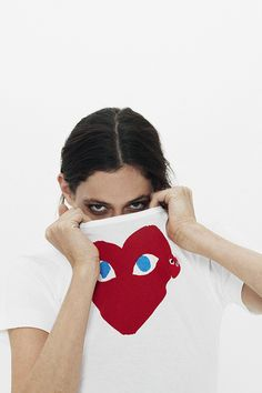 PLAY Comme Des Garcons, designed by Rei Kawakubo herself, is a collaboration with New York graphic artist Filip Pagowski. The name of the Comme des Garcons sub-brand itself is uncannily familiar to the P.L.A.Y. (Participating in the Lives of America's Youth)...