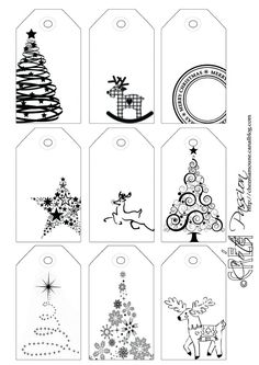 Côté Passion 9 tag BW Christmas is artistic inspiration for us. Get extra photograph about Residence Decor and DIY & Crafts associated with by taking a look at photographs gallery on the backside of this web page. We're need to say thanks in the event you Christmas Labels, Noel Christmas, Christmas Printables, All Things Christmas, Winter Christmas, Christmas Ornaments, Printable Christmas Gift Tags, Printable Tags, Christmas Inspiration