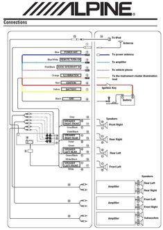 Alpine Ktp 445u Wiring Diagram In 2020 Kenwood Car Car Stereo Electrical Wiring Diagram
