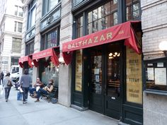 Balthazar, SOHO Loved stopping into the café for coffee