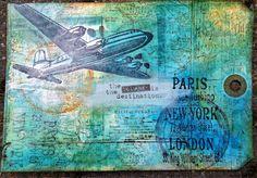 Postcrossing card to barcelona by Marije van Wouw