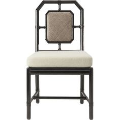 Buy Harlan Side Chair by McGuire Furniture - Made-to-Order designer Furniture from Dering Hall's collection of Chinoiserie Transitional Dining Chairs.
