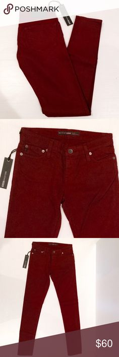 Big Star Alex Skinny Jeans New with tags! Color is Scarlet (maroon). Brand new with tags from Nordstrom. Size Measurements coming soon. No trades. Maroon Jeans, Big Star Jeans, Fashion Design, Fashion Tips, Fashion Trends, Scarlet, Nordstrom, Skinny Jeans, Brand New