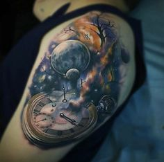 200 Popular Pocket Watch Tattoo Designs & Meanings More