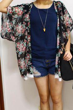 1-hour kimono cardigan