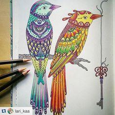 dagdrömmar @lari_kaa #Dagdrommar #HannaKarlzon #adultcoloring