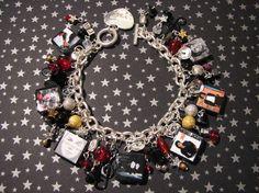 Michael Jackson Bad Tribute Charm Bracelet