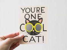 Carte Cool Cat - Rifle Paper Co -Maison Mathûvû