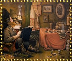 TOUCHING HEARTS: FABULOUS ANIMATED GRAPHICS ( FAIRY TALES) by ALEXANDER MASKAEV